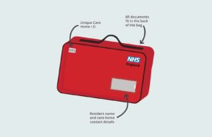 'Red bags' to be rolled out across England's care homes getting patients home from hospital quicker