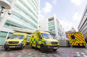 Trust to invest £40m in 300 new ambulances