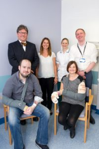 Leeds Teaching Hospitals makes history with first double hand transplant in female patient