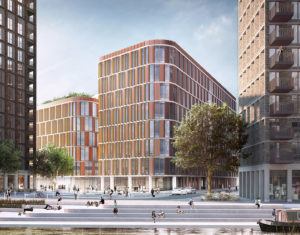 Moorfields Eye Hospital proposed new eye care centre