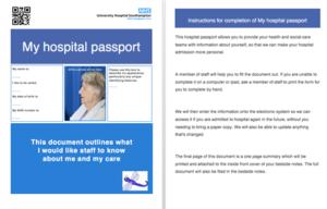 Doctors create innovative hospital 'passport' for older patients