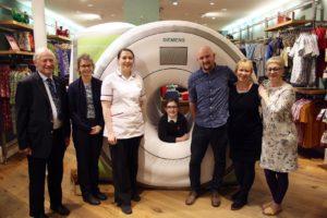 New inflatable MRI scanner helps children at Harrogate District Hospital
