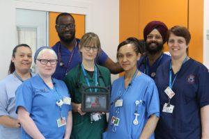 London North West promotes patients sepsis video