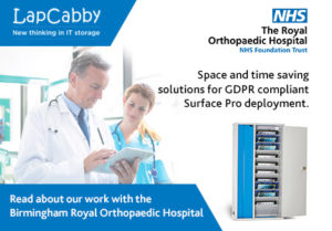 Case Study: The Royal Orthopaedic Hospital opts for space and time saving solutions for GDPR compliant Surface Pro deployment