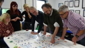 """Brighton A&E Consultant is the inventor behind enterprising new board game """"The Floor"""""""