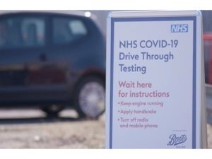 Boots 'drive through testing' for COVID-19