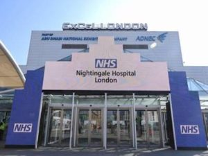 First patients discharged from NHS Nightingale London