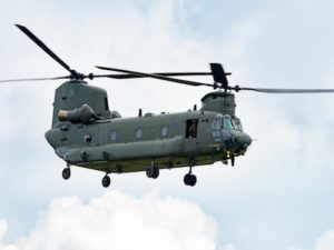 Patient transfers practiced via RAF Chinook helicopter with Isle of Wight Ambulance Service
