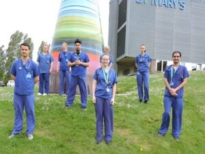 New healthcare professionals join St Mary's Hospital