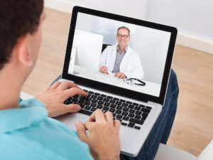 Heart failure patients helped to stay safe through video consultations