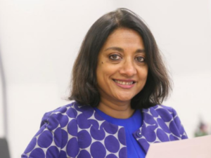 Dr Navina Evans starts today as Chief Executive of Health Education England