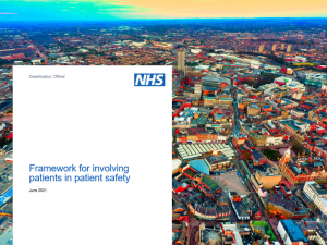 NHS England publishes framework for involving patients in safety
