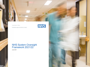 NHS England releases oversight approach for 2021/22